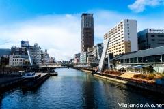 Canales de Osaka, Osaka, Japón