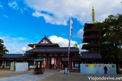 Templo Shinteno ji, Osaka, Japón